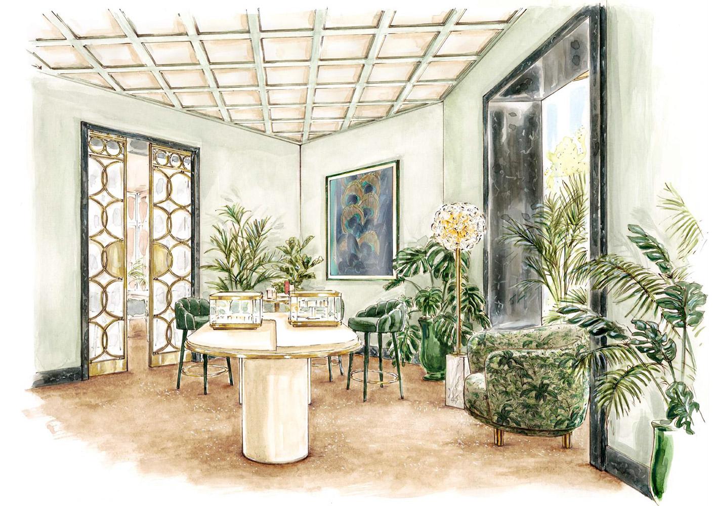 Cartier reabre su Boutique de Serrano, 74