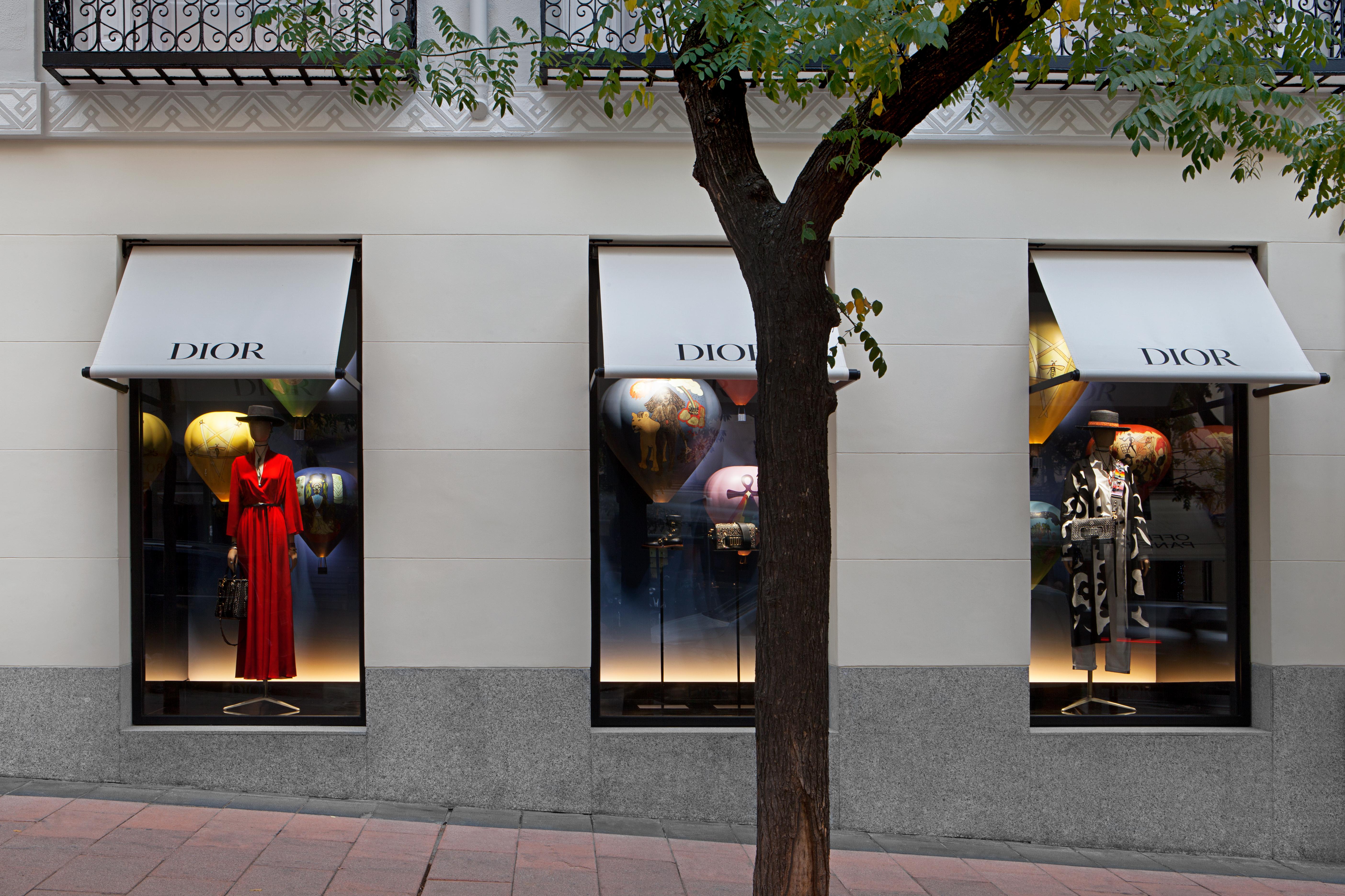 Dior Flagship Store at José Ortega y Gasset